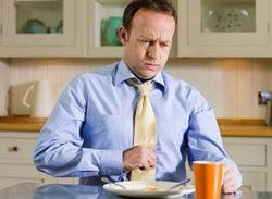 боль во время еды
