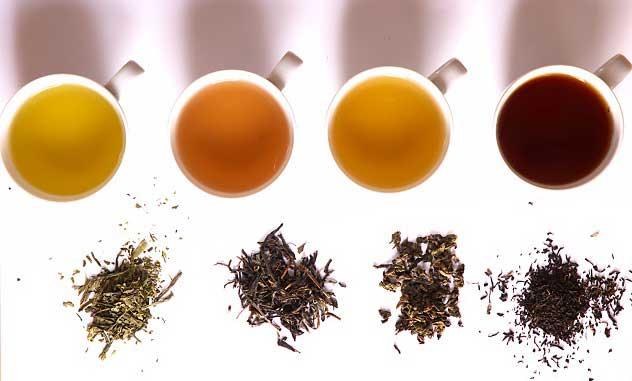 разные чаи