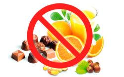 запрет продуктов