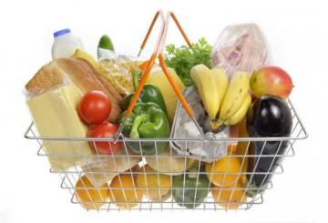 корзинка с продуктами