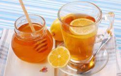 мед с лимонным соком
