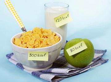 подсчёт калорий