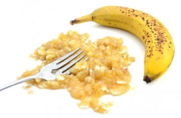 протертый банан