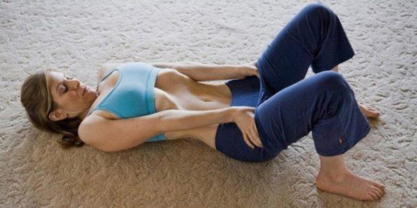 упражнение для желудка
