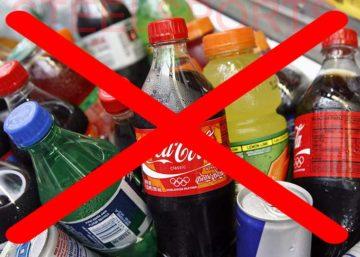 запрет газированных напитков