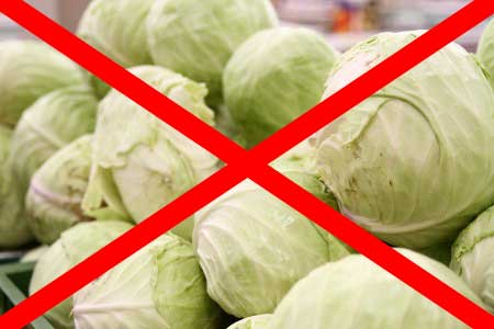 запрет капусты