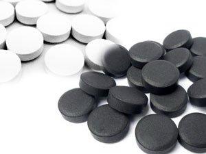 черные и белые таблетки