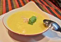 картофельный суп пюре