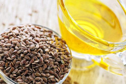лен и растительное масло