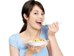 прием пищи