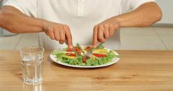 употребление еды