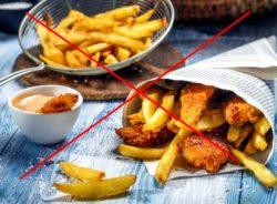 запрет жирных продуктов